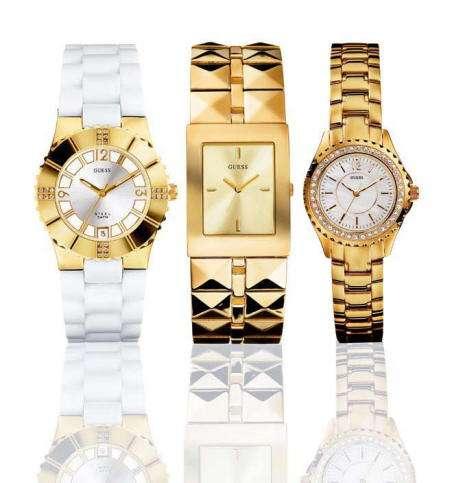 relojes guess dorado ot
