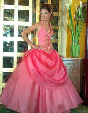 vestidos exclusivos rosa princesa 3