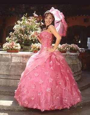 vestidos exclusivos rosa princesa 4