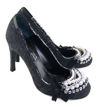 zapatos denim adornos pedro garcia