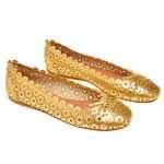 bailarinas doradas azzedine alaia