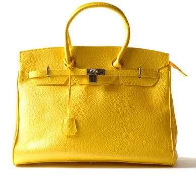 bolso amarillo blanco accesorios