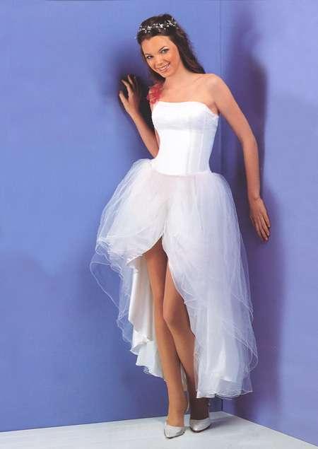 Vestidos de 15 cortos y blancos