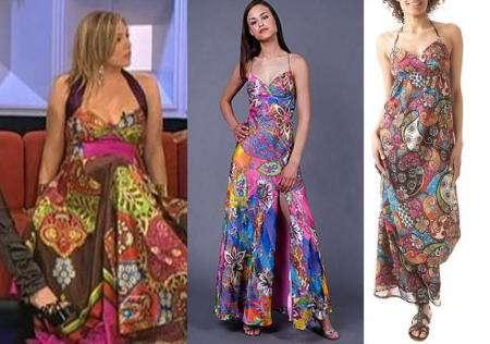 vestidos largos multicolor ot