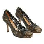zapatos calados azzedine alaia