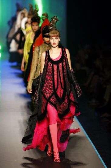jean paul gaulier semana moda paris verano 2009 2