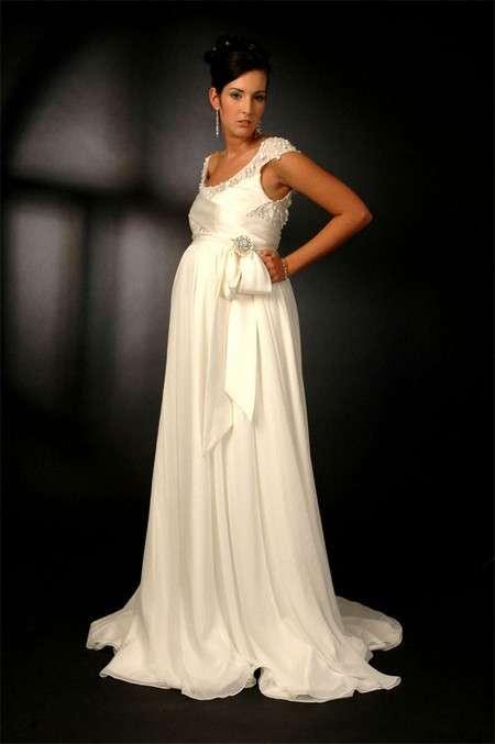 vestido de novia embarazada