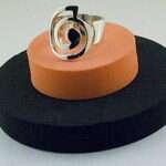 anillo plata silvereira