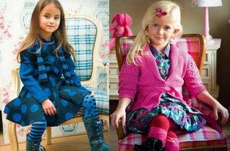 Colores alegres en la ropa de invierno para niñas | Mas de Moda