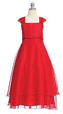 vestido rojo de 15 barato
