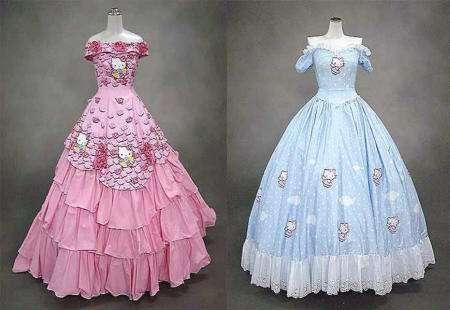 Vestidos de 15 años de Hello Kitty