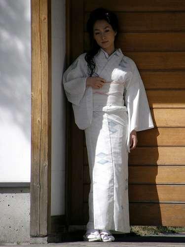 kimono vestido tradicional japones