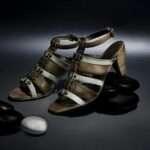 estefanía marco primavera verano sandalia tacón bicolor