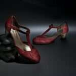 estefanía marco sandalia roja