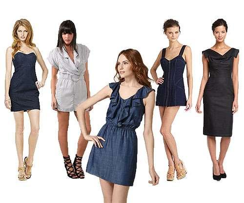 Vestidos De Mezclilla Estás De Moda Revista De Moda Para