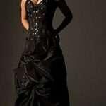 vestidos de 15 anos negros