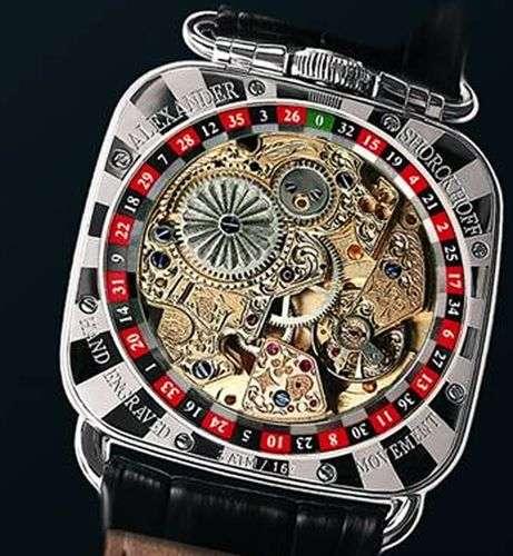 de fortuna Alexander Los relojes el la sello de llevan 1J35FKuTlc