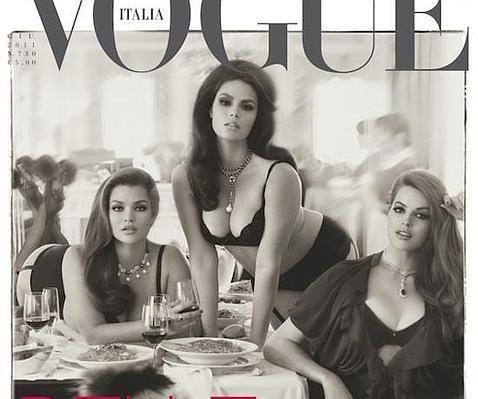 La revista Vogue le dedica su tapa a las mujeres con curvas