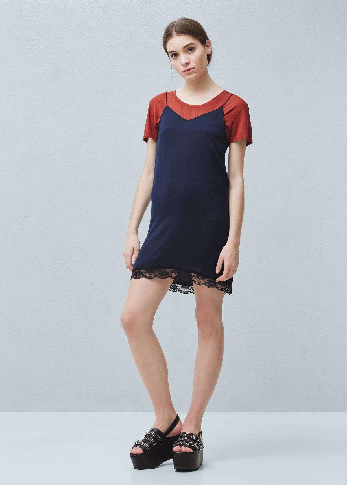 vestidos de verano - Vestido de MANGO / 10,99€