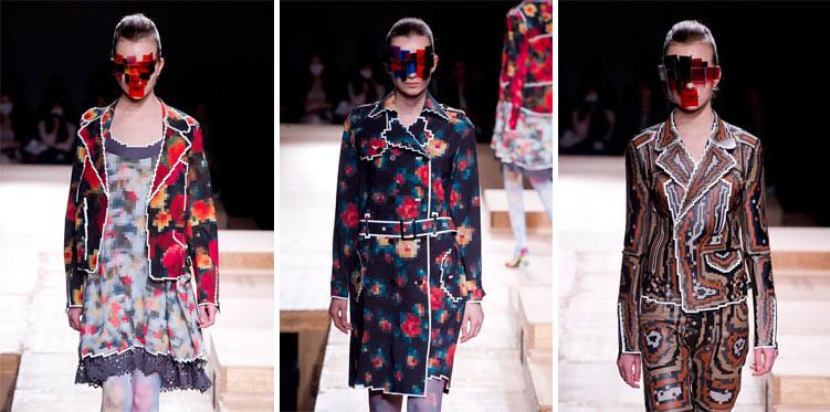 moda pixelada La moda también