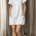 vestido blanco sisley