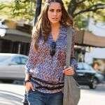 venca rebajas 2012 blusa mujer de cuello mao con escote v