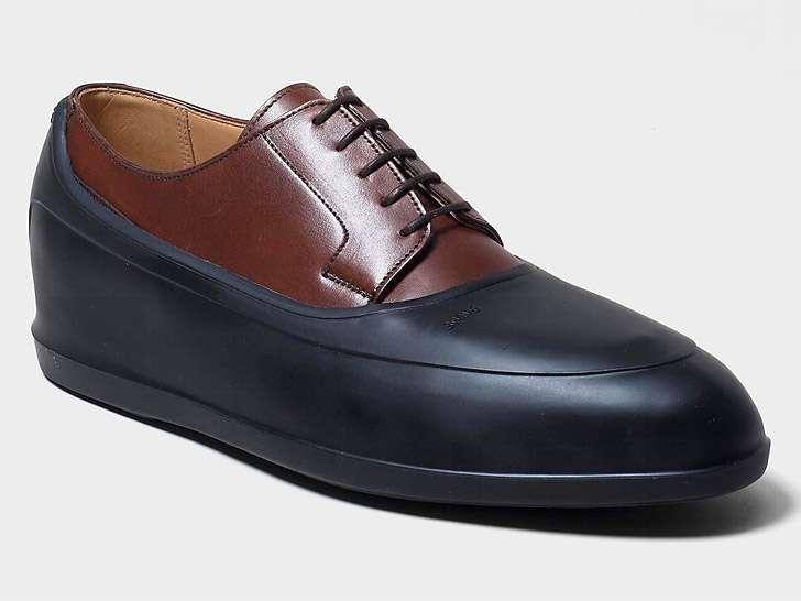 cubrezapatos para la lluvia - zapato de ejecutivo