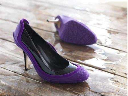 cubrezapatos para la lluvia - zapato de salón