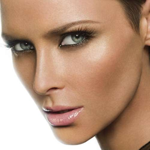 maquillaje ojos verdes piel morena