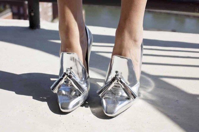 zapatosplateadosleandramedine 2
