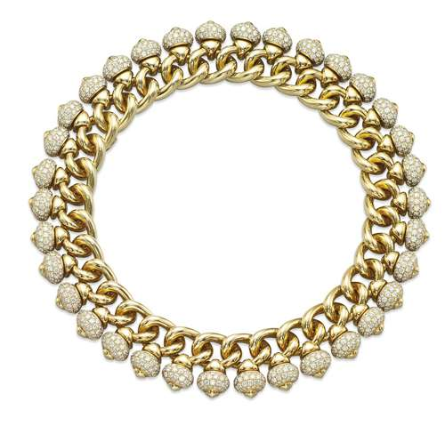 12 04 Graff A diamond and yellow gold necklace small USE1