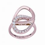 Montblanc Collection Princesse Grace de Monaco Petales Entrelaces motif ring