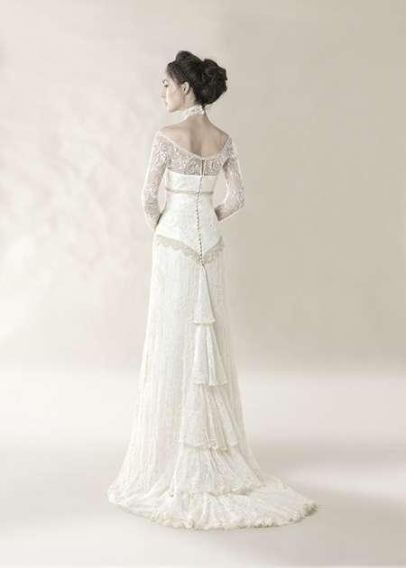 vestidos de novia de corte vintage - estás de moda: revista de moda