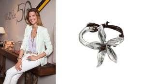 Laura Sánchez diseña joyas para la marca Uno de 50