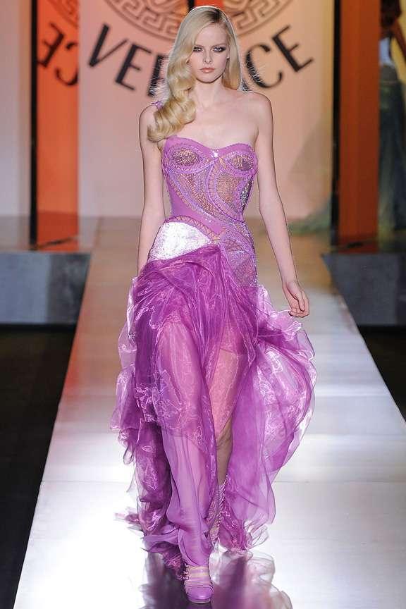 Colección otoño 2012 Atelier Versace - Estás de Moda: Revista de ...