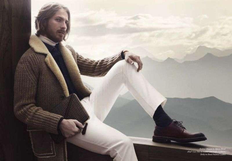 Toda una moda de cara a la temporada invernal 2012 2013 cuando brillarás  vestido de Ermenegildo Zegna. 71fdfb02e95