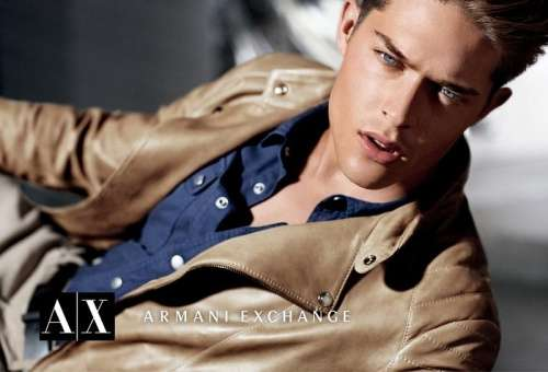 armani exchange fall winter 2012 campaña