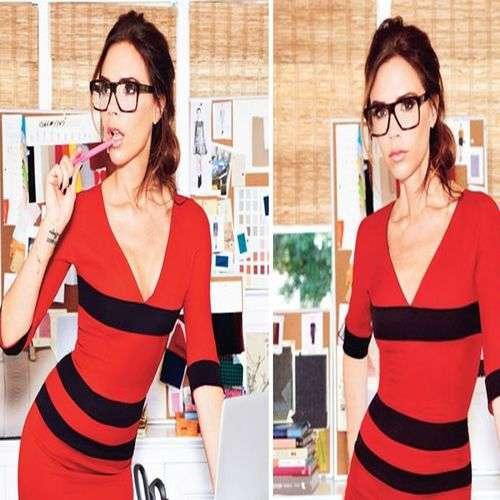 Victoria Beckham diseña nueva colección de gafas graduadas