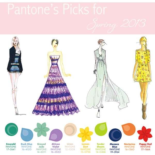Colores Pantone para la primavera verano 2013 2