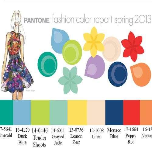 Colores Pantone para la primavera verano 2013