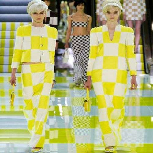 Louis Vuitton y sus cuadros para la primavera verano 2013
