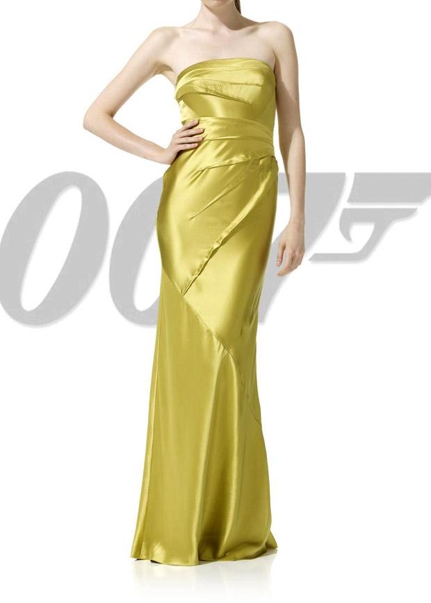 vestido chicas Bond 007