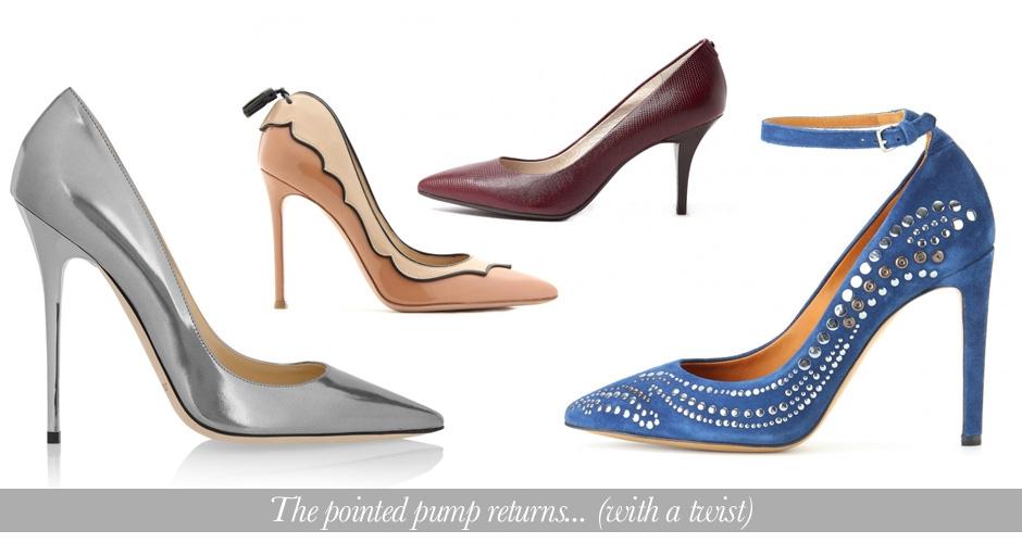 zapatos con punta