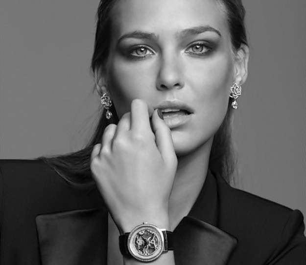 Nuevos relojes de Piaget lucidos por Bar Rafaeli