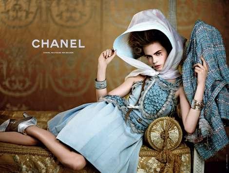 Cara Delevigne para la Colección Crucero 2013 de Chanel