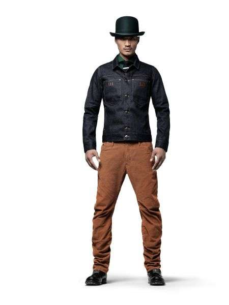 Nuevos jeans masculinos: Low Tapered