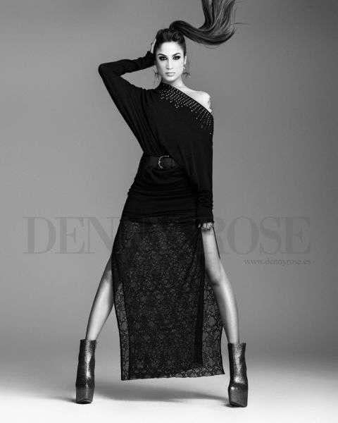 Denny Rose propone una colección elegante  y sensual para el invierno 2013