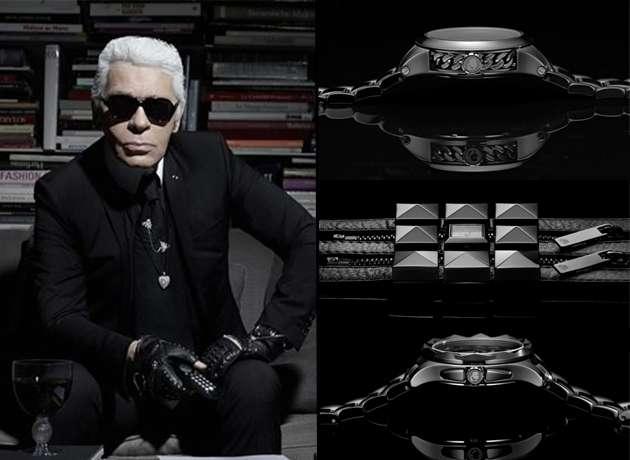 Karl Lagerfeld diseña colección de relojes