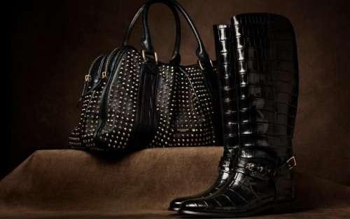 bolsos y zapatos burberry