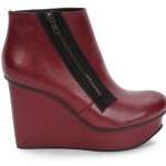 moda otoño 2012 burgundy